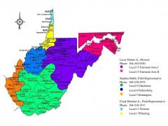 BAC District Council of WV MAP